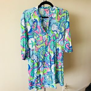 Lilly Pulitzer size sm dress cotton
